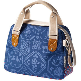 Basil Bohème City Handlebar Bag 8L, indigo